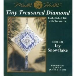 Набор Icy Snowflake Mill Hill MHTD24