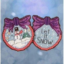 Набор Let it Snow Man Mill Hill ST181715
