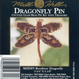 Набор Rootbeer Dragonfly Mill Hill MHDF3