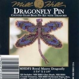 Набор Royal Mauve Dragonfly Mill Hill MHDF2