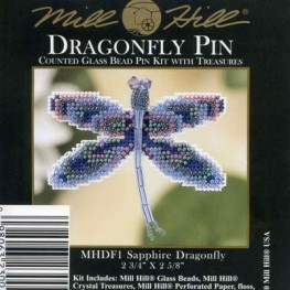 Набор Sapphire Dragonfly Mill Hill MHDF1