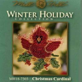 Набор Christmas Cardinal Mill Hill MH187303