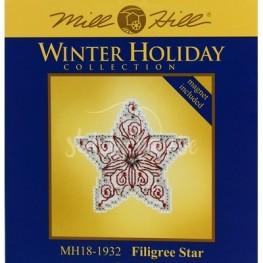 Набор Filigree Star Mill Hill MH181932