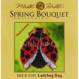 Набор Ladybug Hug Mill Hill MH185103