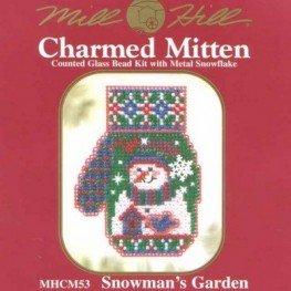 Набір Snowman's Garden Mill Hill MHCM53