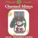 Набор Snowman's Garden Mill Hill MHCM53