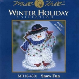 Набор Snow Fun Mill Hill MH184301