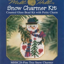 Набор Pine Tree Snow Charmer Mill Hill MHSC28