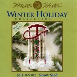 Набір Snow Sled Mill Hill MH189302