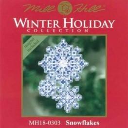 Набір Snowflakes Mill Hill MH180303