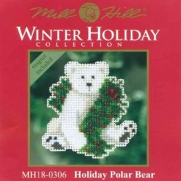 Набор Holiday Polar Bear Mill Hill MH180306