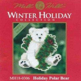 Набор Holiday Polar Bear Mill Hill MH180306