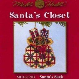 Набор Santa's Sack Mill Hill MH166303
