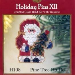 Набор Pine Tree Ho Ho H108 Mill Hill