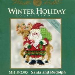 Набір Santa and Rudolph Mill Hill MH182305