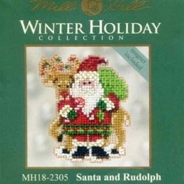 Набор Santa and Rudolph Mill Hill MH182305