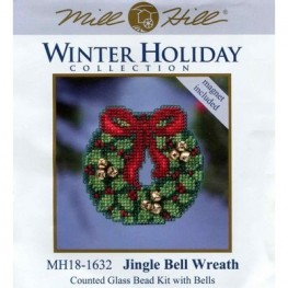 Набор Jingle Bell Wreath Mill Hill MH181632