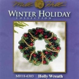 Набір Holly Wreath Mill Hill MH186303
