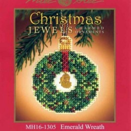 Набор Emerald Wreath Mill Hill MH161305
