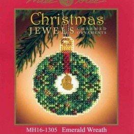 Набор Emerald Wreath Mill Hill MH161305