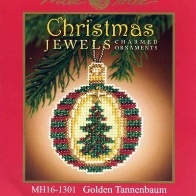 Набор Golden Tannenbaum Mill Hill MH161301