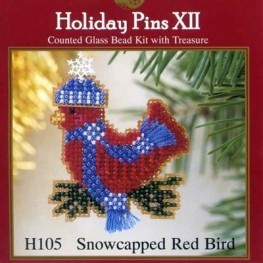 Набор Snowcapped Red Bird Mill Hill H105