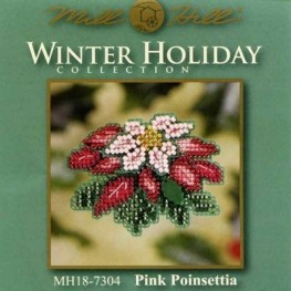 Набор Pink Poinsettia Mill Hill MH187304