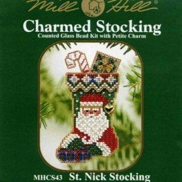 Набор St. Nick Stocking Mill Hill MHCS43