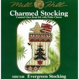 Набор Evergreen Stocking Mill Hill MHCS48