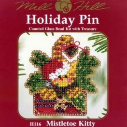 Набір Mistletoe Kitty Mill Hill H116