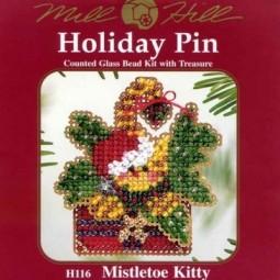 Набор Mistletoe Kitty Mill Hill H116