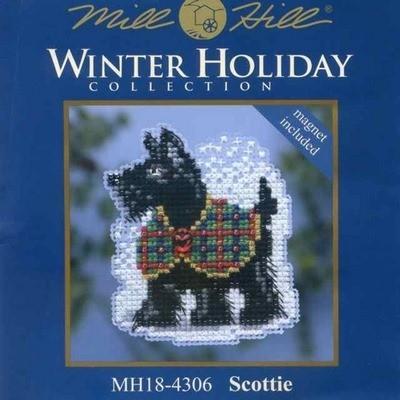 Набор Scottie Mill Hill MH18-4306