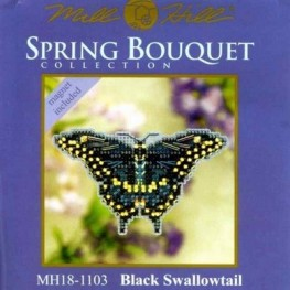 Набір Black Swallowtail Mill Hill MH181103