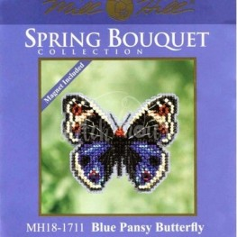 Набор Blue Pansy Butterfly Mill Hill MH181711