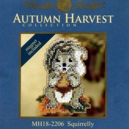 Набір Squirrelly Mill Hill MH182206