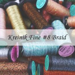 Металізовані нитки Kreinik Fine 8 Braid