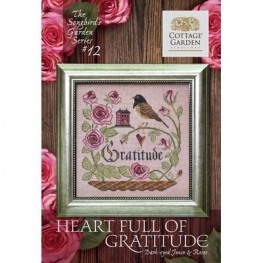 Heart Full of Gratitude 12 Cottage Garden Samplings