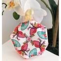 Схема Cherry Blossom Biscornu Tiny Modernist