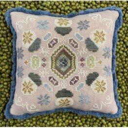 Схема Winter Acorns The Blue Flower