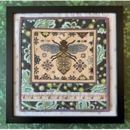 Схема Quilting Bee The Blue Flower