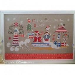 Схема Christmas on the Beach Cuore e Batticuore