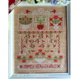 Схема Natale tra i Fiori Cuore e Batticuore