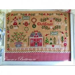 Схема Christmas Farm Cuore e Batticuore