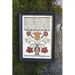Схема Anna's Prayer Heartstring Samplery