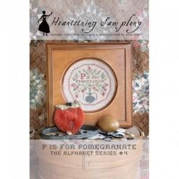 Схема P is for Pomegranate Heartstring Samplery