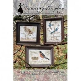 Схема The Bird Collection Part IV Heartstring Samplery