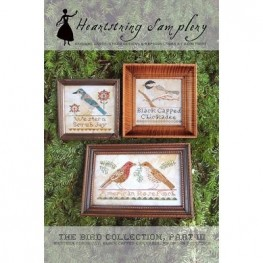 Схема The Bird Collection Part III Heartstring Samplery