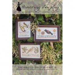 Схема The Bird Collection Part II Heartstring Samplery