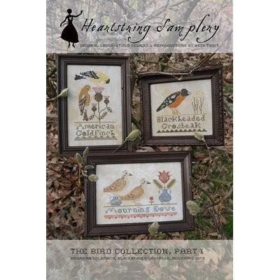 Схема The Bird Collection Part I Heartstring Samplery