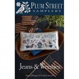 Схема Jeans & Weenies Plum Street Samplers